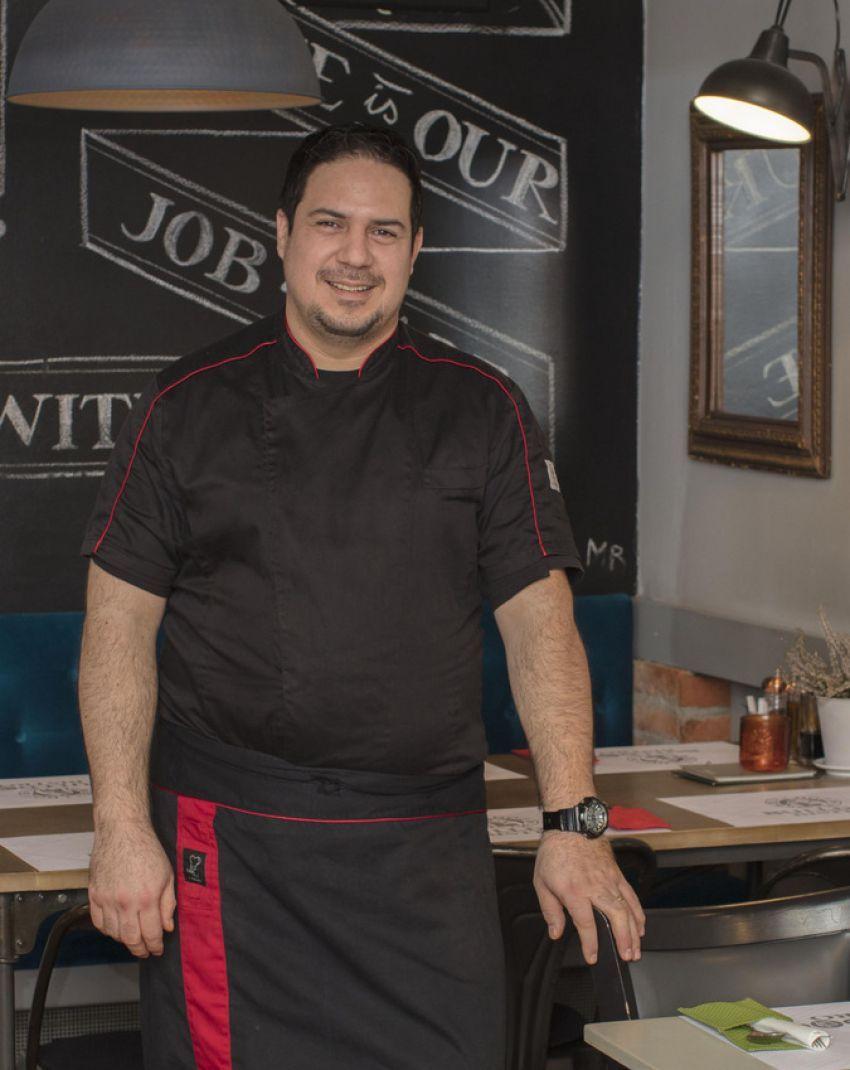 Chef Bruno Cezar Larzundi Vagner iz Bulldoga