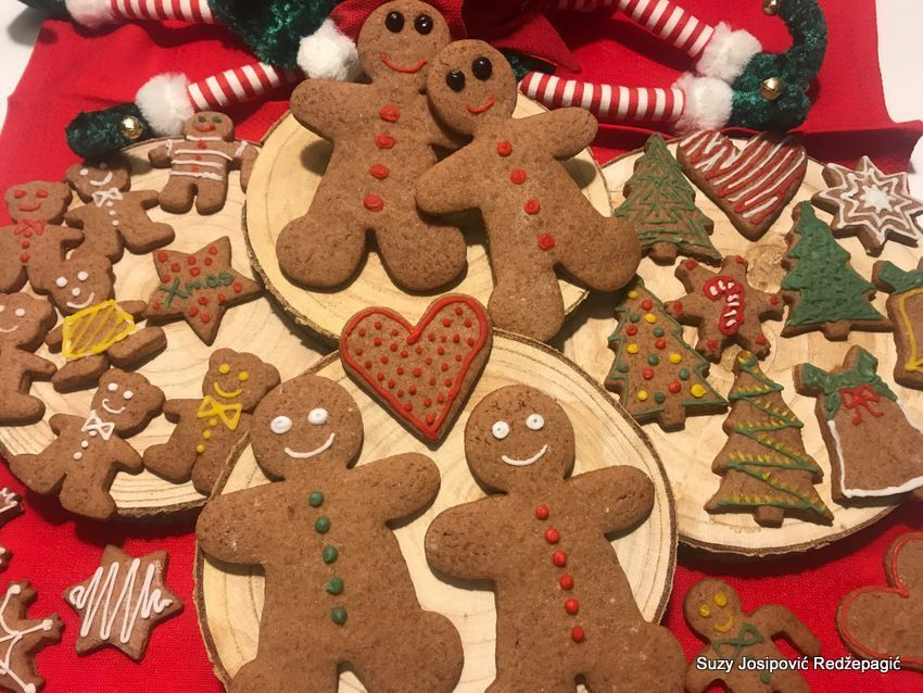 Gingerbread božićni keksi