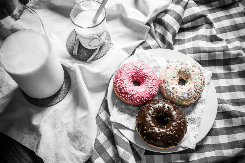 Okrugle krafne - donuts