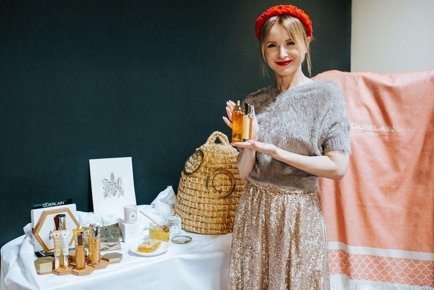 Promocija nove kolekcije pčelinjih proizvoda Guerlain kozmetike - linija Abeille Royale