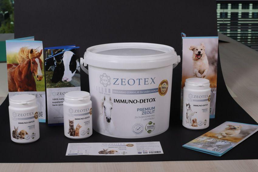 Zeotex - zeolit - prirodni mineral