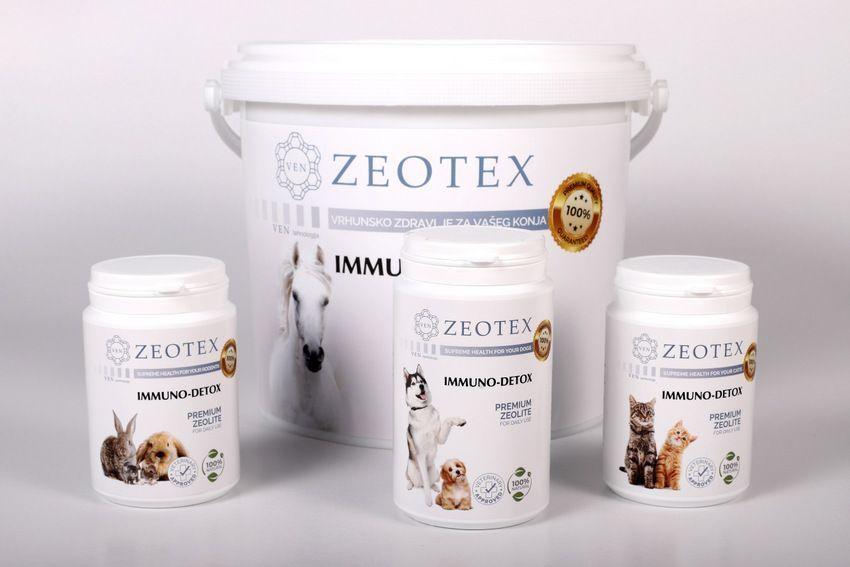 Zeotex - zeolit