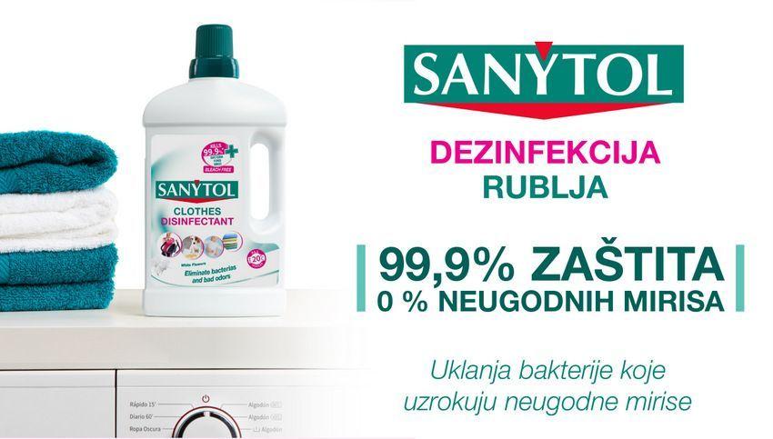 Sanytol sredstvo za dezinfekciju rublja