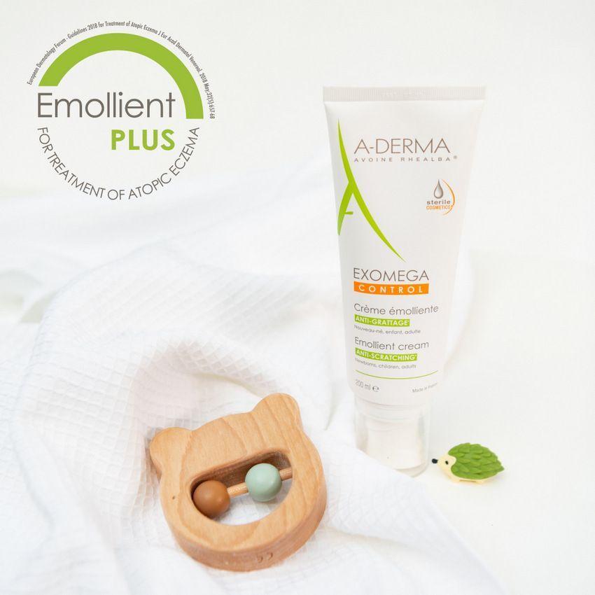 A-derma Exomega control Emollient plus
