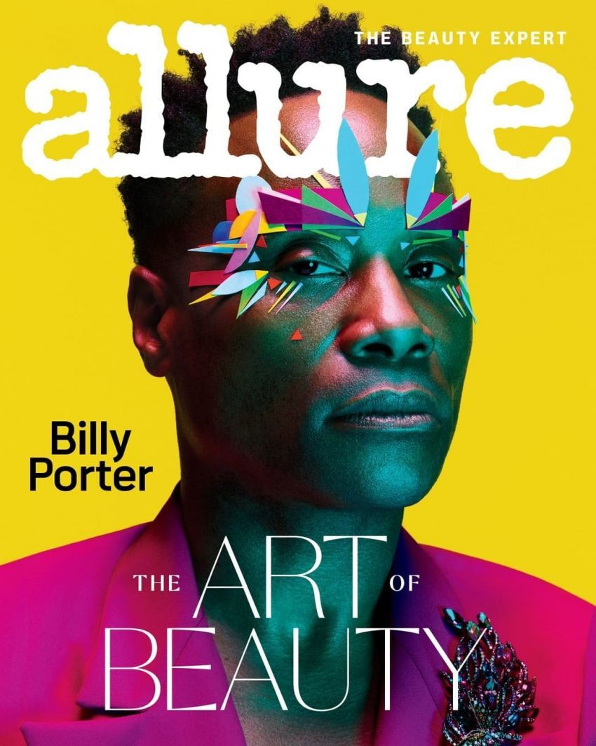 Billy Porter on the February 2020 issue of Allure