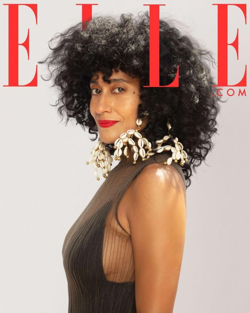 Tracee Ellis Ross on the October 2020 digital issue of Elle.com.