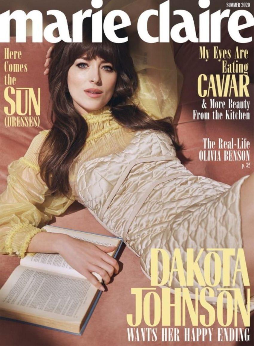 Dakota Johnson the Summer 2020 issue of Marie Clarie U.S.
