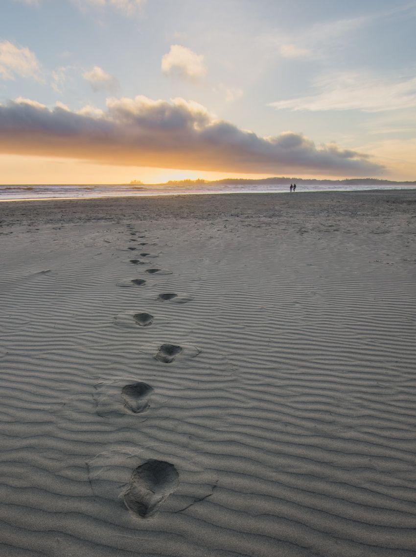 šetnja po pjesku