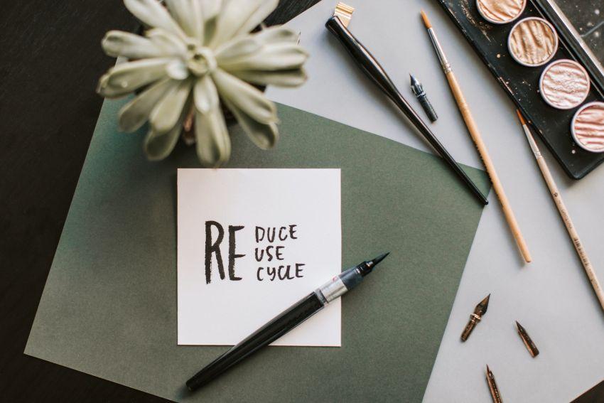 recikliranje- notes