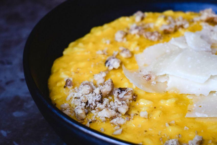 Rižoto s tikvicama i sirom